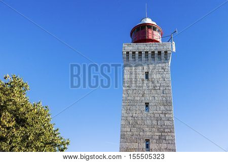 Lighthouse La Garoupe. Antibes Provence-Alpes-Cote d'Azur France.
