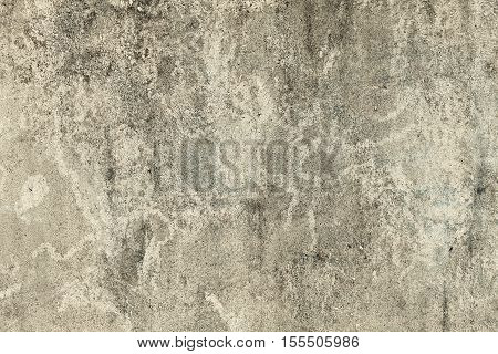 Brown grungy wall Great textures for your design. Background from high detailed fragment stone wall. Concrete texture for background in black, grey and white colors.