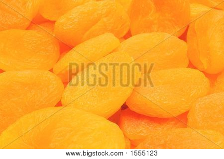 Dried Apricots Texture