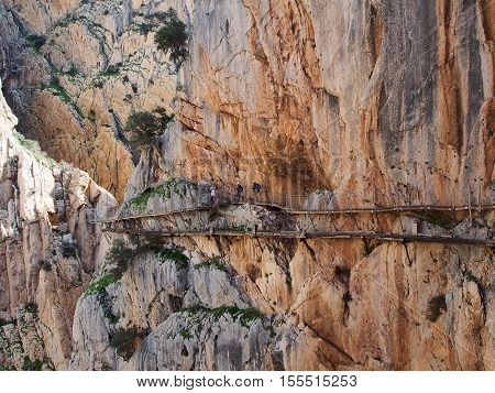 World's most dangerous walking trail reopened. 'Caminito del Rey' Ardales