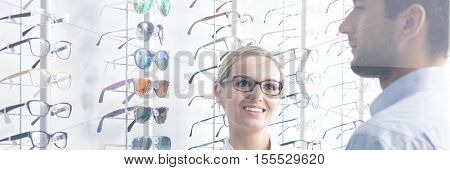 At Optical Shop