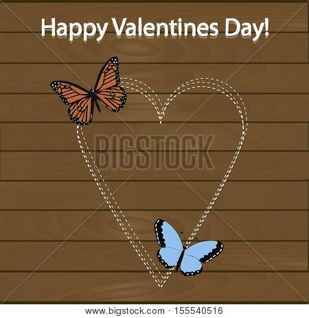 festive poster happy Valentine's day. Pattern to decorate or design a greeting card or page for your scrapbook album or gift. Beautiful vector illustration