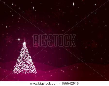 Winter Romantic Background