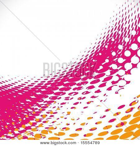 vector halftone background design illustration