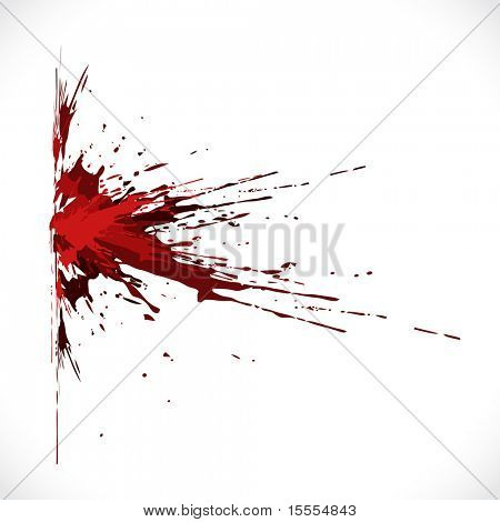 vector blood shot grunge background poster