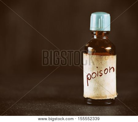 Old Bottle With Poison
