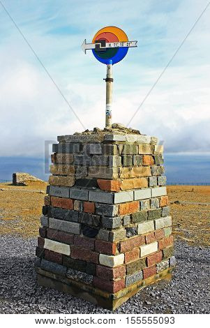 Nordcape in Norway - most northen point of Europe.