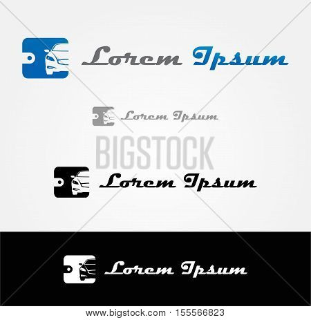 Icon for automotive vector business identity logo