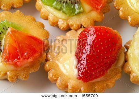 Fruit Pastry Closeup