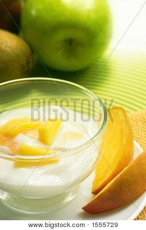 Mango Yogurt Dessert