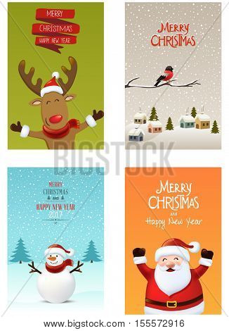 Christmas design elements set,vector