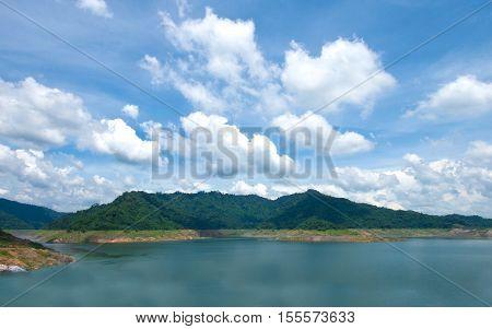 Khun Dan Prakarnchon Dam of Thailand, River Dam