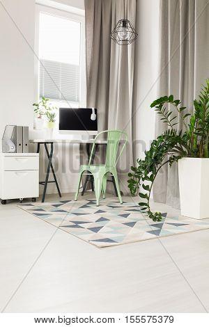 Studio With A Desk
