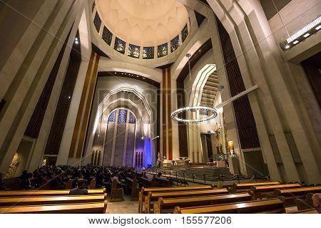 Saint Joseph's Oratory, Montreal, Quebec, Canada