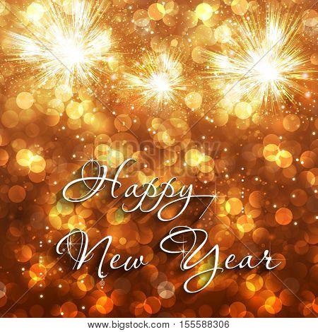 Happy New Year event celebration background