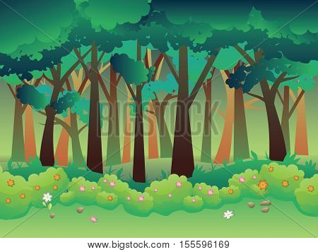 Green Summer Forest
