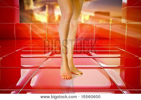 Plastic Legs