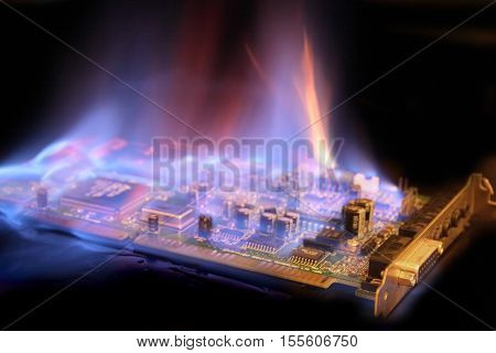 Soundcard  In The Fire