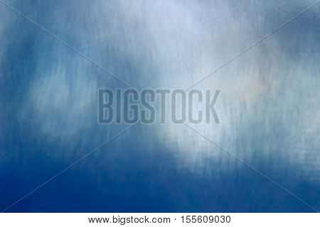 Unusual and beautiful background in blue color with white strips