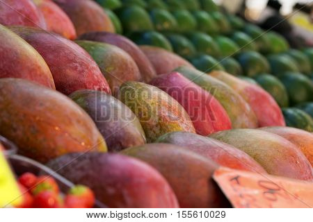 Mango Background, Nobody