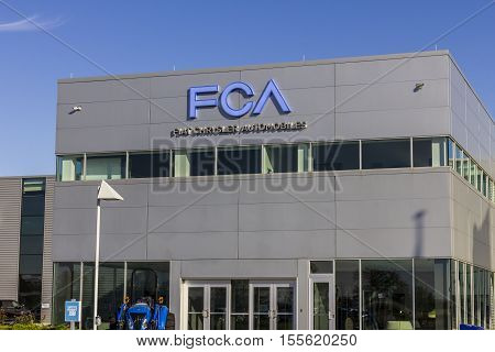 Tipton - Circa November 2016: FCA Fiat Chrysler Automobiles Transmission Plant. FCA sells vehicles under the Chrysler Dodge and Jeep brands II