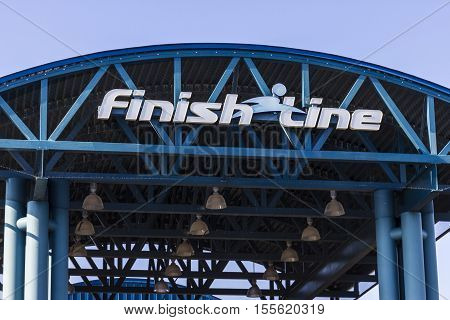 Indianapolis - Circa November 2016: Finish Line, Inc. Corporate Headquarters. Finish Line Is A Retai