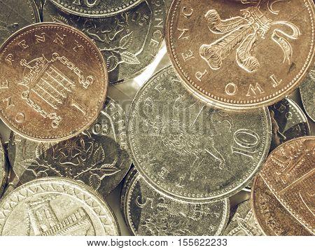 Vintage Pounds Picture