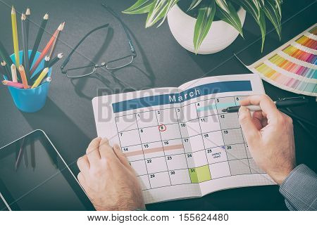 Calendar Events Plan Planner Organization Organize. high resolution image.