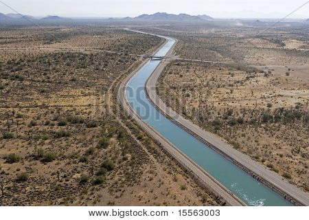 Central Arizona Project (CAP) is designed to bring about 1.5 million acre-feet of Colorado River water per year to Pima Pinal and Maricopa counties. poster