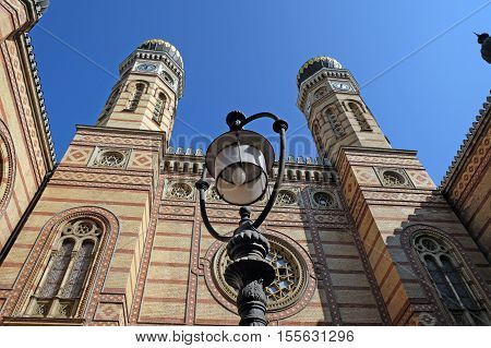 Dohany Street Synagogue also known as The Great Synagogue in Budapest Hungary