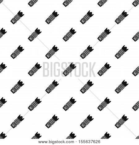 Professional zoom lens pattern. Simple illustration of professional zoom lens vector pattern for web