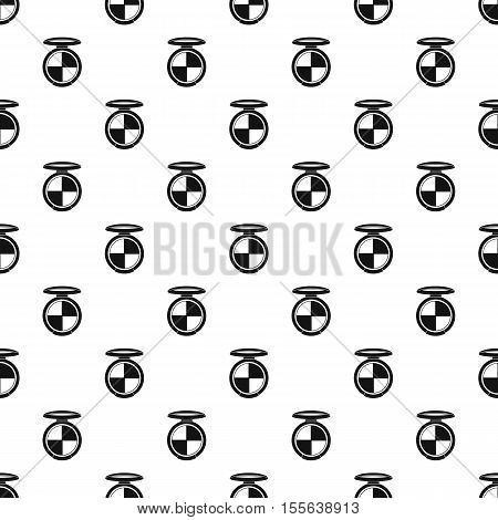 Shadow palette pattern. Simple illustration of shadow palette vector pattern for web