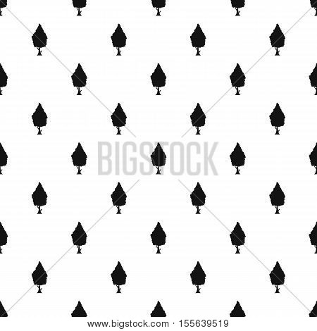 Columnar tree pattern. Simple illustration of columnar tree vector pattern for web