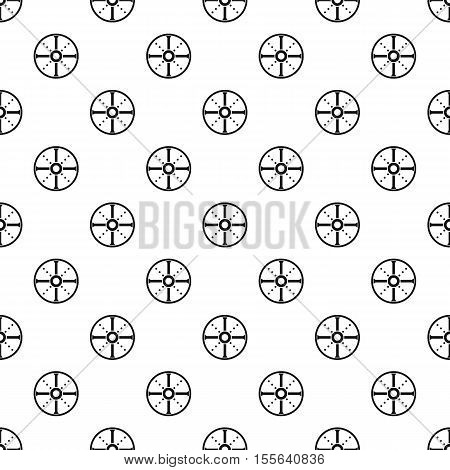 Medieval round shield pattern. Simple illustration of medieval round shield vector pattern for web