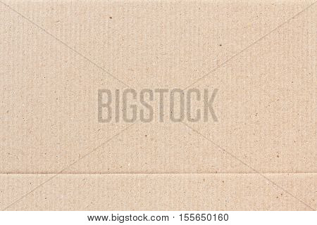 Corrugated paper texture or corrugated paper background for design with copy space for text or image.