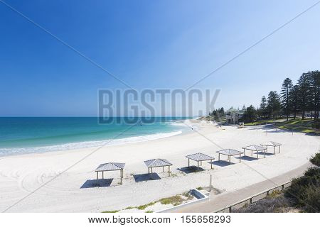 Summer day at Cottesloe Beach, Perth, Western Australia, Australia