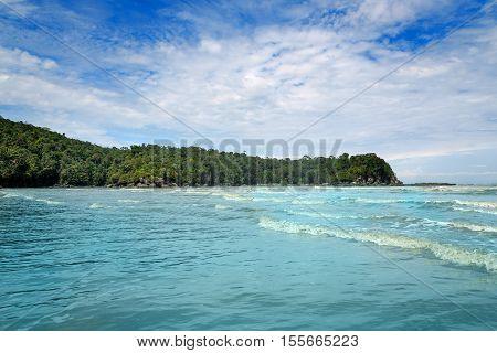 Tajor Bay In Bako National Park