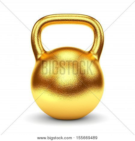 Golden Kettlebell