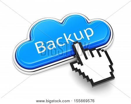 Backup Cloud Button