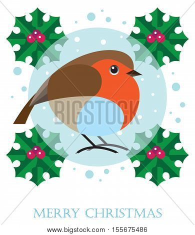 robin redbreast is a symbol of the Christmas holiday