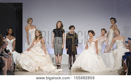 Anne Barge - Fall 2017 Collection - New York Fashion Week Bridal