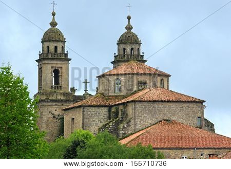 San Francisco Church, Santiago, Spain.