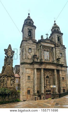 San Francisco Church, Santiago De Compostela, Spain.