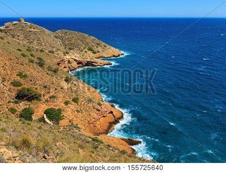 Summer Sea Coast Landscape (spain).