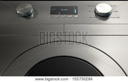 Modern Washing Machine Closeups