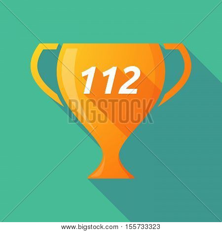 Long Shadow Award Cup With    The Text 112