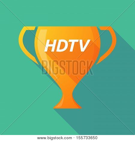 Long Shadow Award Cup With    The Text Hdtv