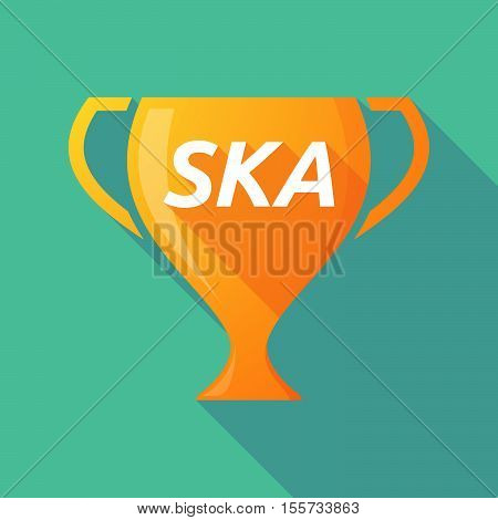 Long Shadow Award Cup With    The Text Ska
