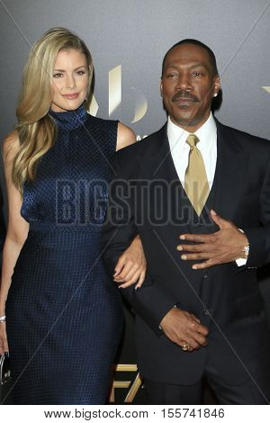 LOS ANGELES - NOV 6:  Paige Butcher, Eddie Murphy at the 20th Annual Hollywood Film Awards  at Beverly Hilton Hotel on November 6, 2016 in Beverly Hills, CA