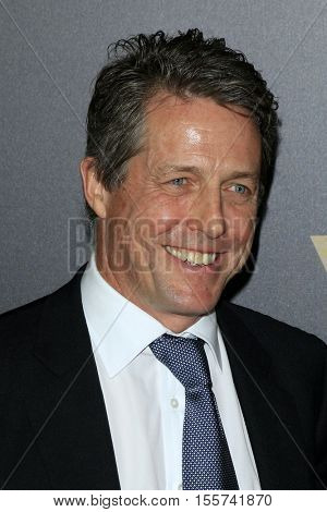 LOS ANGELES - NOV 6:  Hugh Grant at the 20th Annual Hollywood Film Awards  at Beverly Hilton Hotel on November 6, 2016 in Beverly Hills, CA